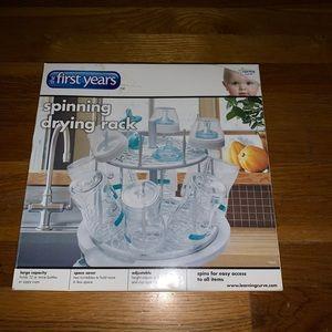 First Years NIB Spinning Drying Rack